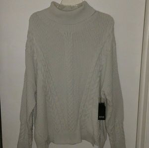New Ana New Approach Turtleneck Cable Knit Sweater